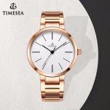 Geschäfts-einfaches Form-Geschenk-elegante Diamant-Uhr für Damen 71335