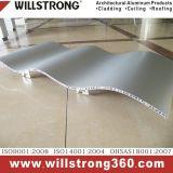 L'aluminium panneau alvéolé pour façades architectural des panneaux de signalisation de plafond de la canopée Façades Ventilées