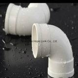 PVC白い十字の管付属品