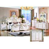 Klassisches Bett für Schlafzimmer-Möbel-Set und Hauptmöbel (W803B)