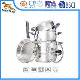 18/10 di acciaio inossidabile un Cookware delle 9 parti ha impostato (CX-SS0901)