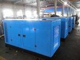 gerador Diesel Soundproof de quatro cursos 125kVA com motor R6105azld de Weichai