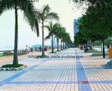 azulejo de suelo exterior de la plaza del azulejo de la piedra del suelo del proyecto de 200*200 milímetro