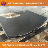 Placa revestida da resistência de desgaste do carboneto do cromo