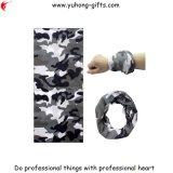 Gute Flexibilitäts-nahtlose Gefäß-Schal-Tarnung-Art Headwear (YH-HS165)