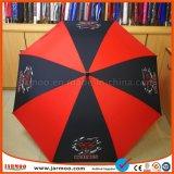 Parapluie promotionnel de bonne qualité de golf avec l'impression faite sur commande de logo