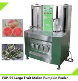 Éplucheuse à cajou à cire à fruits à double tête, Machine à éplucher la pastèque à la citrouille (FXP-99)