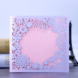 Самая лучшая карточка приглашения печатание полного цвета типа лазера качества подгонянная