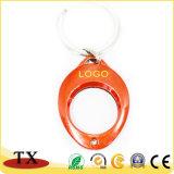 Heißes Verkaufs-und bunter Metalllaufkatze-Münzen-Halter-Schlüsselkette mit Nickelplattierung
