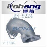 Carcaça do termostato de Hino da peça sobresselente do motor de Bonai/tomada da água/flange Bn-8224 da água