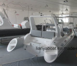 Liya 17FTの中央コンソールの肋骨の膨脹可能なボートの製造業者