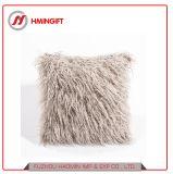 2018装飾的な極度の柔らかいプラシ天ののどの毛皮の投球枕カバークッションのケース