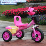 ハンドル棒/3つのサイクル赤ん坊が付いている3つの車輪のペダル車/子供の三輪車