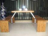 4 de Lijst en de Bank van het Restaurant van de Kantine van het Bamboe van de zetel