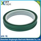 nastro spesso di verde dell'animale domestico del silicone da 0.06 millimetri per il mascheramento della vernice