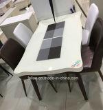 Legno solido che pranza insieme per la mobilia del salone (LL-WST008)