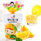 70g 3びんのProbioticsのタイプオレンジはフルーツゼリーの飲み物を吸う
