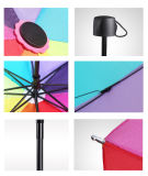 Зонтик 8K радуги автоматический складывая