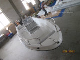 Liya 5.0mのガラス繊維の漁船のパンガ刀のボートの漁船