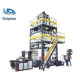 Biodegradable PLA solo automático de la rebobinadora máquina de extrusión soplado de película plástica de PE