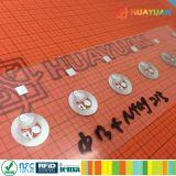 NTAG213 NFC HF 탬퍼 증거 상감세공 꼬리표 반대로 위조
