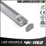 Un'espulsione di alluminio d'angolo da 90 gradi LED per l'indicatore luminoso di striscia del LED