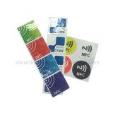 Дешевые цены Ntag213 Ntag215 Наклейки NFC технология RFID на наклейке