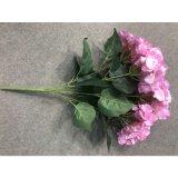 Flor artificial de Hydreangea de la decoración del restaurante del hotel de la boda de Rose