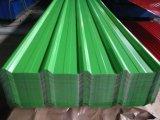 Galvanisierte Farben-gewölbtes Dach-Stahlbleche