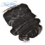 100%の実質のバージンの人間の毛髪の卸売インドボディ波13X6のFrontal