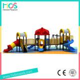 Оборудование спортивной площадки симпатичного детсада напольное для малышей