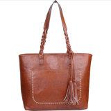 Professional Custom Lady Tote bag bolsa da embreagem PU de bolsas de couro
