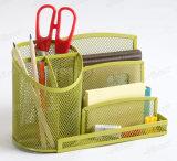 탁상용 조직자 신제품 금속 메시 문구용품 조직자 사무실 책상 부속품
