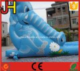 Diapositiva inflable de la despedida del elefante de la diapositiva del elefante