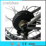 Bicyclette électrique de croiseur de plage de neige de gros pneu de 26 pouces