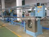 Chaîne de production d'extrusion de câble de teflon de Fluoroplastic pour FEP, PFA, ETFE