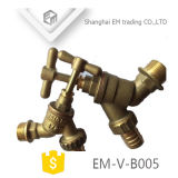 금관 악기 성격 색깔 또는 크롬 도금을 한 도금된 금관 악기 물 꼭지 (EM-V-B005)