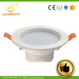 Round 10W 12W 20W Prix de gros de surface Downlight