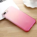 형식 기온변화도 색깔 iPhone6/7/8를 위한 투명한 단단한 전화 상자 덮개