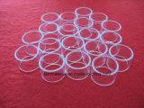부식 저항하는 투명한 석영 유리 반지