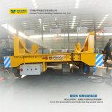 La industria motorizó la carretilla de la transferencia del carril del carro de la transferencia del vehículo de transporte