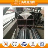 Balustrade en aluminium de profil d'usine d'enduit direct chinois de poudre