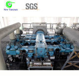 M datilografa o compressor de gás horizontal da água da estrutura equilibrada