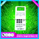El panel eléctrico del interruptor de membrana de los telclados numéricos de la membrana de la bóveda de encargo del metal
