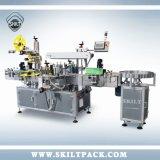 Automatische Vorderseite-Rückseiten-Oberseite-Schädlingsbekämpfungsmittel-Flaschen-Etikettiermaschine in Shanghai