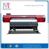 Eco 용해력이 있는 인쇄 기계 큰 체재 잉크젯 프린터 1.8meter/3.2meter Dx7 인쇄 헤드 1440dpi 해결책