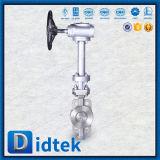 Didtek ha laminato il tipo valvola a farfalla della cialda della guarnizione del disco lunga di estensione
