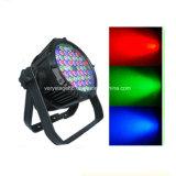 방수 동위 점화 54 피스 3W RGBW LED