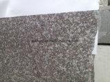 G664 granito Mountant, lajes vermelhas do granito, telha do granito da névoa de China