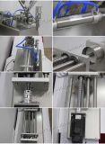 2017 Youlian coller de servo de machine de remplissage semi-automatique pour l'huile (S1WGD1000)